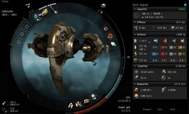 Eve Online High Slot Drone